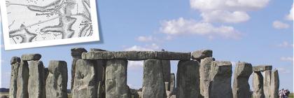 The Cursus monument at Stonehenge