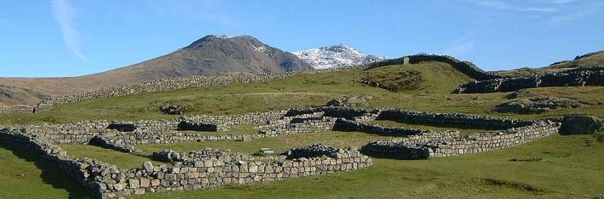 Hardknott Roman fort/castle (Photo: Mick Knapton)