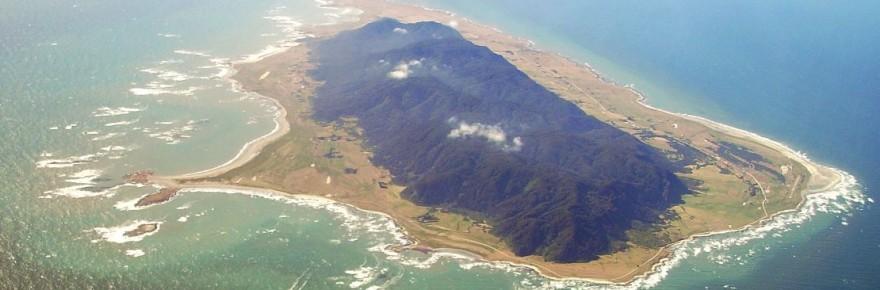 Mocha Island, Chile: 'Isla Mocha 1' by Javiertorresrossi; licensed under CC BY-SA 3.0 via Wikimedia Commons
