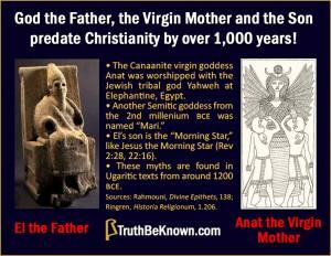God, Virgin and Son