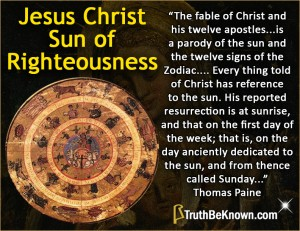 Jesus Christ, Sun of Righteousness