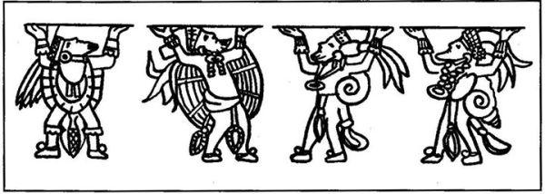 Mayan skybearers