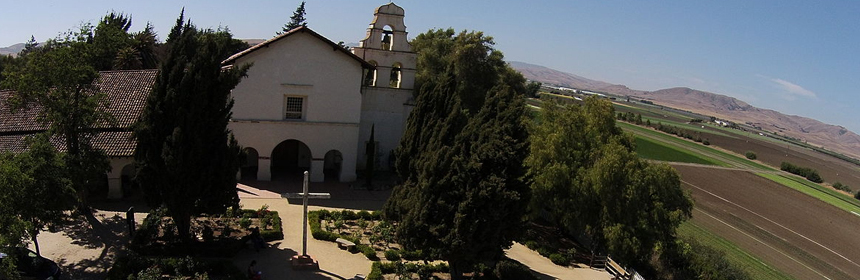 Mission San Juan Bautista, California (Photo: Kyle Hawton)